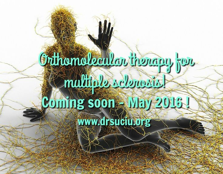 Picture Orthomolecular therapy for multiple sclerosis  - drsuciu