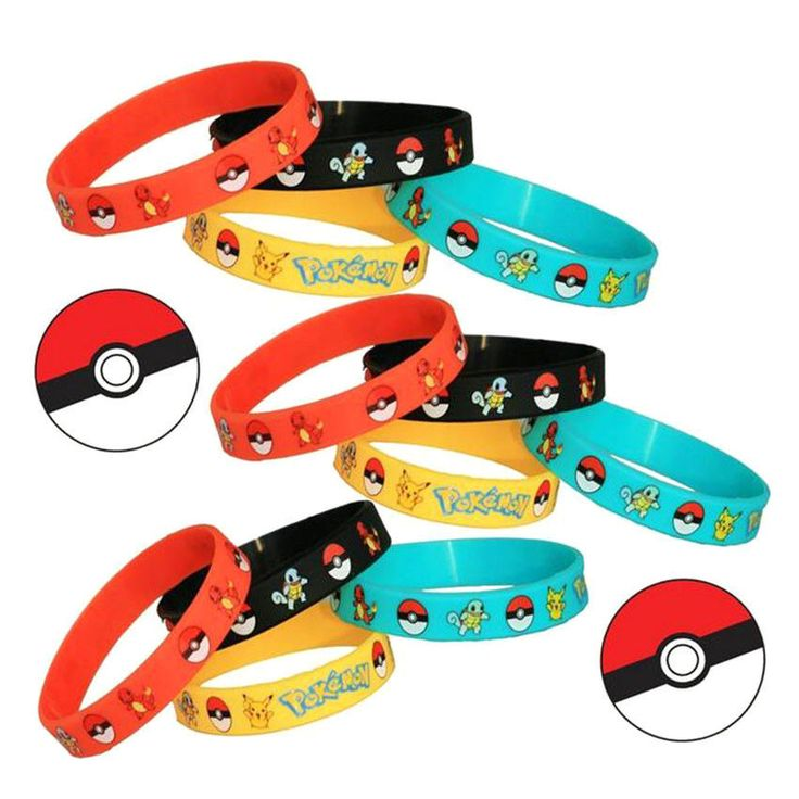 Fashion Pokemon Go Team Valor Mystic Instinct Wristband Silicone Bracelets #Unbranded