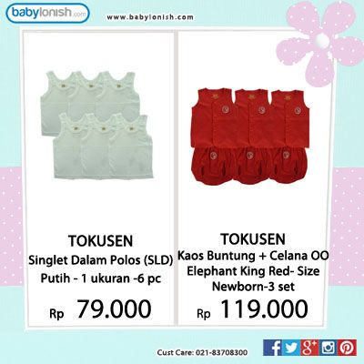 Ini dia baju bayi pilihan dengan harga ekonomis.  Bersertifikat SNI. www.babylonish.com