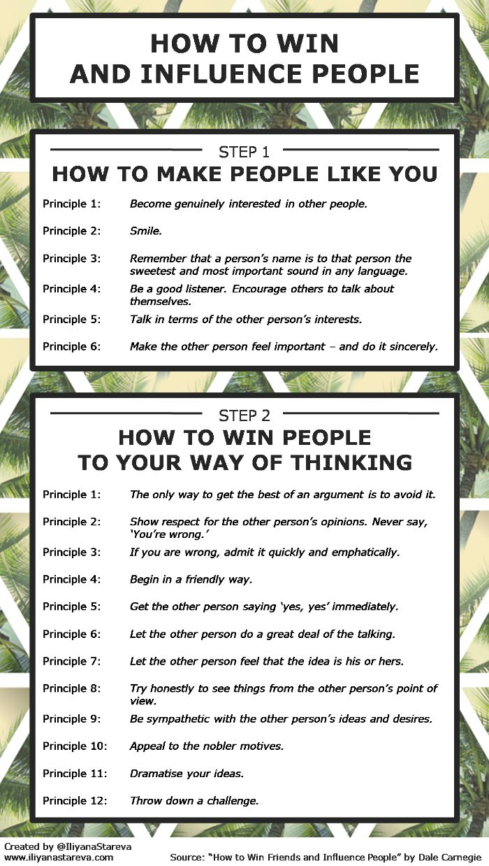 How-to-win-and-influence-people-infographic - advice from Dale Carnegie