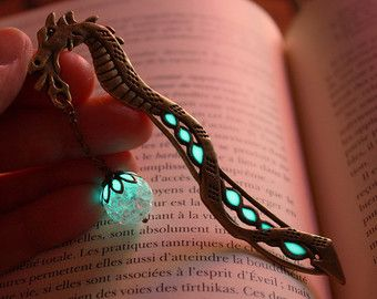 DRAGON Segnalibro Glow in the Dark