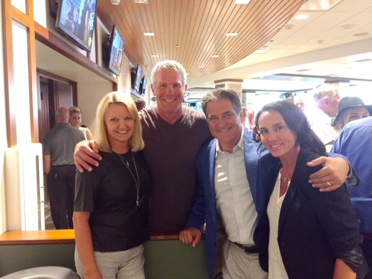 Steve Mariucci -- @Farve4official , Deanna, Gayle and I at Packer HOF induction ... -- Sqor Sports