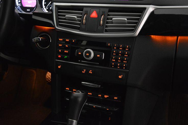 Mercedes-Benz interior multi-media
