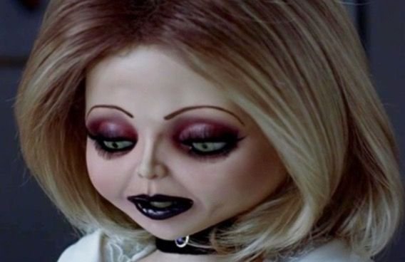 Hi Chelsey Could You Do My Make Up For Halloween Please Bride Of Chucky Makeup Bride Of Chucky Bride Of Chucky Costume
