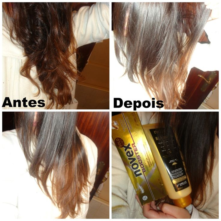 Novex Light Gold Booster - Review .. Before and After!