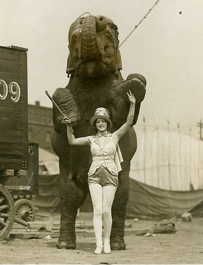 Mimi Berlin's Blog: Female circus acts