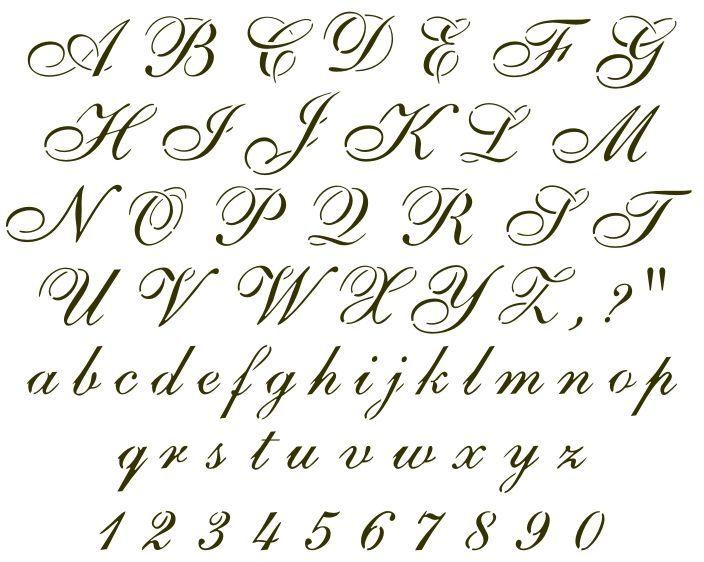 The 25+ best Cursive letters ideas on Pinterest | Cursive alphabet ...