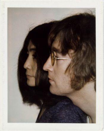 Andy Warhol, John Lennon et Yoko Ono, 1971