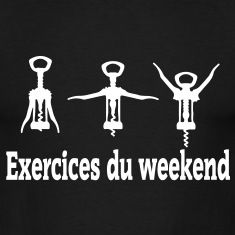 exercices weekend Tee shirts