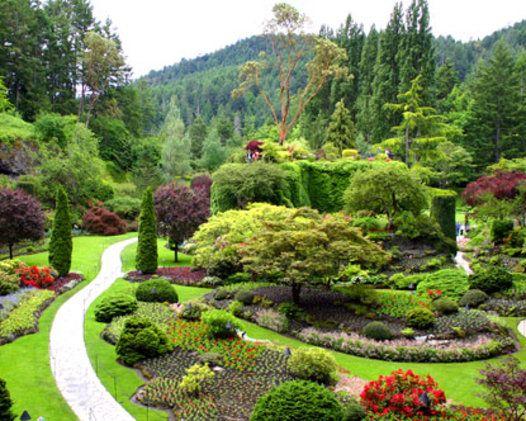 Buchart Gardens Isla Victoria Canada Oeste - Victoria, Canadá