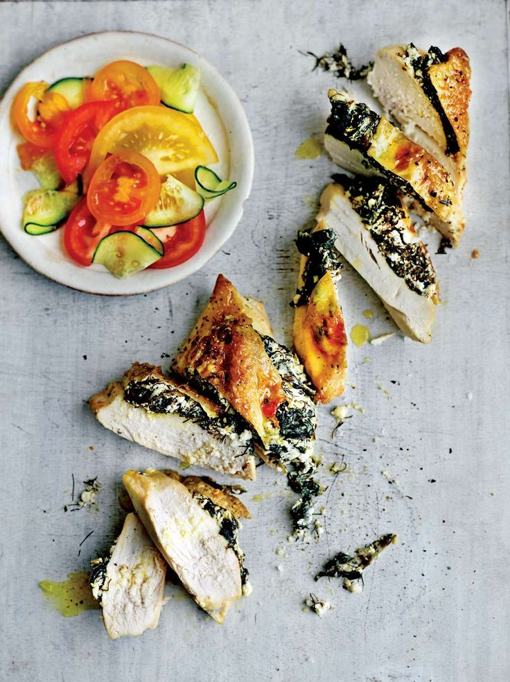 Chicken and feta calcium-booster from The Medicinal Chef: Healthy Every Day by Dale Pinnock | Cooked.com