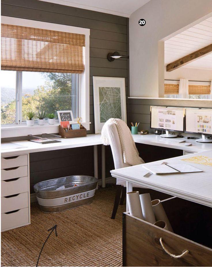 96 best Dream Office images on Pinterest | Desks, Home ...