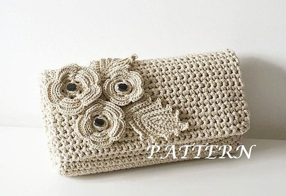 Crochet Pattern Crochet Bag Pattern crochet purse от isWoolish