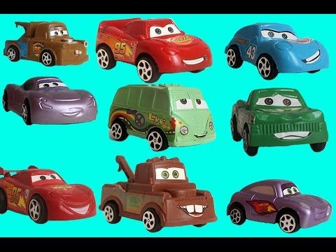 Disney Cars 2 Toys Pixar Unboxing Video Collection Review: Mater, Lightning McQueen, Finn McMissile – WP BLOG