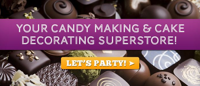 Cake Decorating Supply & Candy Making Supplies | Cake Supply Stores with Confectionery Supplies