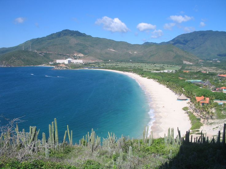 The #barren beaches on #Margarita Island - Venezuela