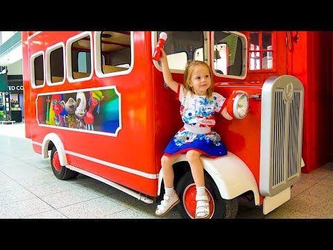 Колёса на автобусе крутятся Песенка для детей The wheels on the bus Nursery Rhyme song for kids - YouTube
