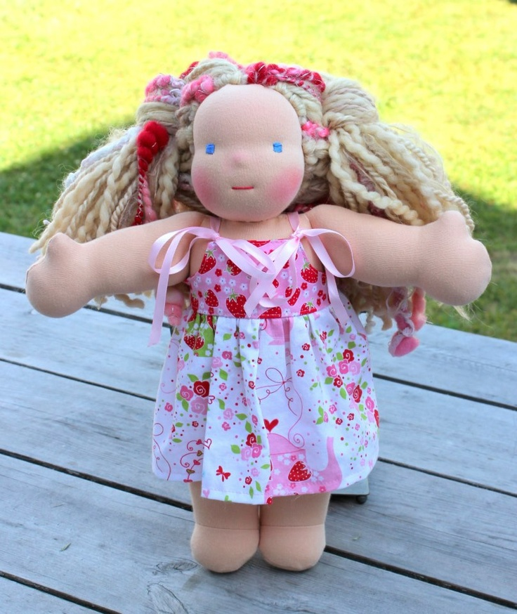 Sold! Handmade Waldorf Steiner Dolls for a Cause. www.WoolyBabes.com