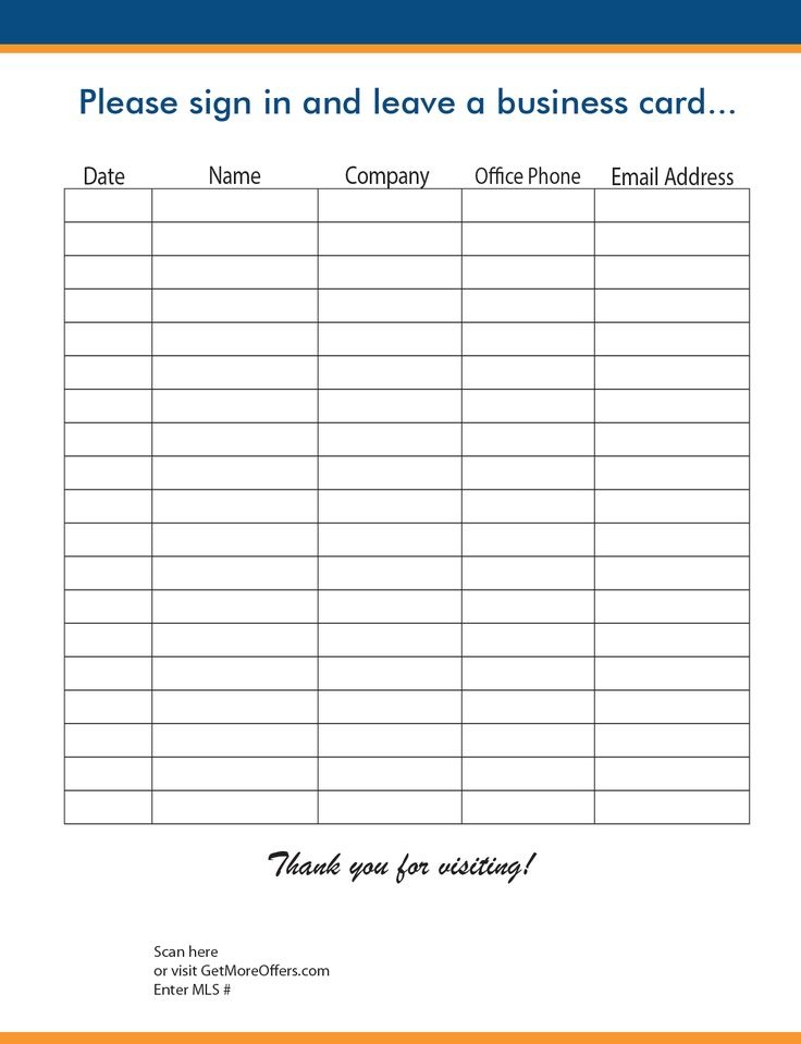The 25+ best Sign in sheet template ideas on Pinterest Sign in - conference sign up sheet template