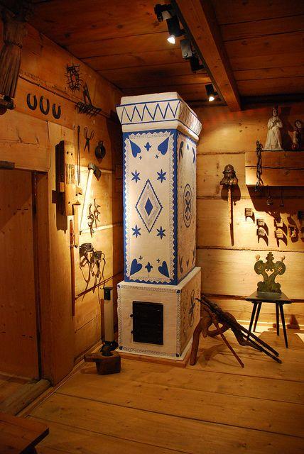 Zakopane Style Museum in Zakopane (Poland) - Gąsieniców Sobczaków Cottage - road to Rojów