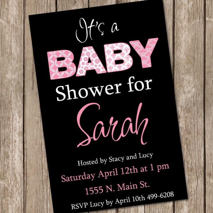 50 best Baby Shower images on Pinterest | Baby girl shower, Girl ...