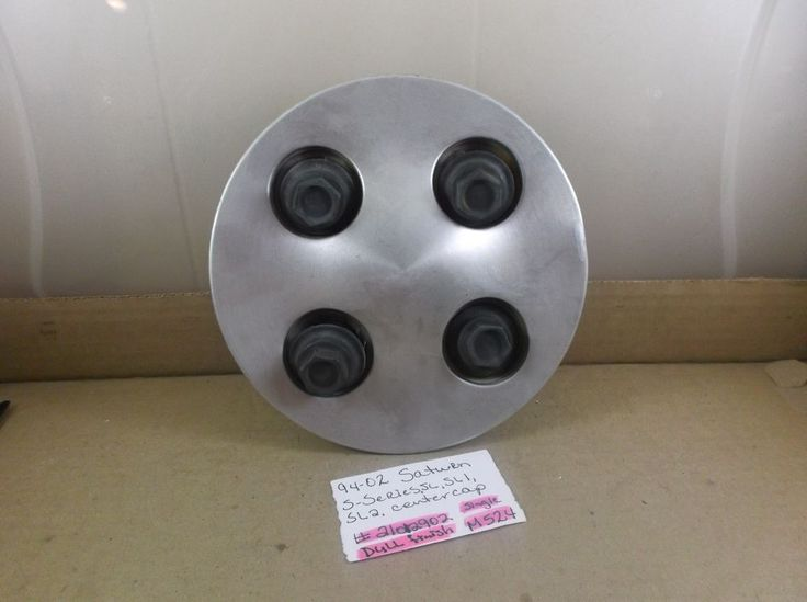 1994-2002 Saturn S Series SL1 SL2 OEM Machined Wheel Center Cap  21012902   M524 #Saturn