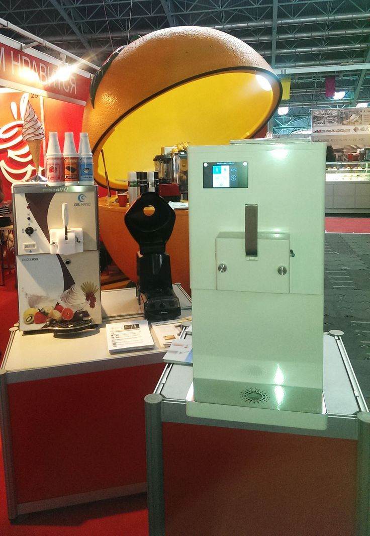 Our machines on display at Horeca and Retail Tech, held from 14 to 17 April 2015 in Minsk (Belarus).