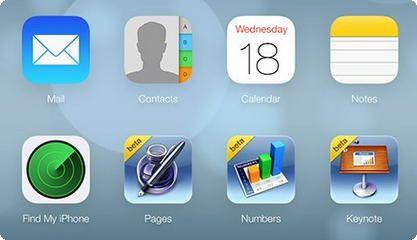 iCloud recebe novo design do iOS 7