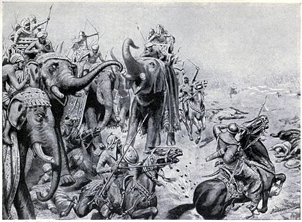 The first battle of Panipat which laid the foundation of Mughal Empire in India.  First battle of Panipat Date: April 21st, 1526. Badshah Ibrahim Lodhi of Delhi Sultanate had set a front with one lakh soldiers near a village called Panipat in Haryana... #baburibrahimlodhi #firstbattleofpanipat
