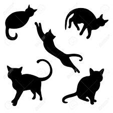 Resultado de imagen para siluetas de gatos