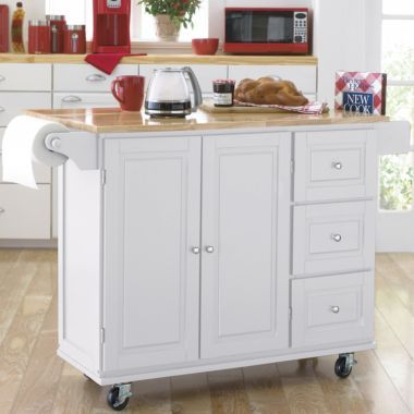 Black Kitchen Carts And Towels On Pinterest