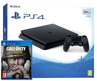 Buy PS4 Console 500GB With Call Of Duty WWII after viewing deals on here. Compare shops on services: Buy Now Pay Later • Cheapest price • Click & Collect • FREE Next Day Delivery • PayPal checkout • Warranty Plans • Buy in 3-clicks with Fast & FREE UK delivery.