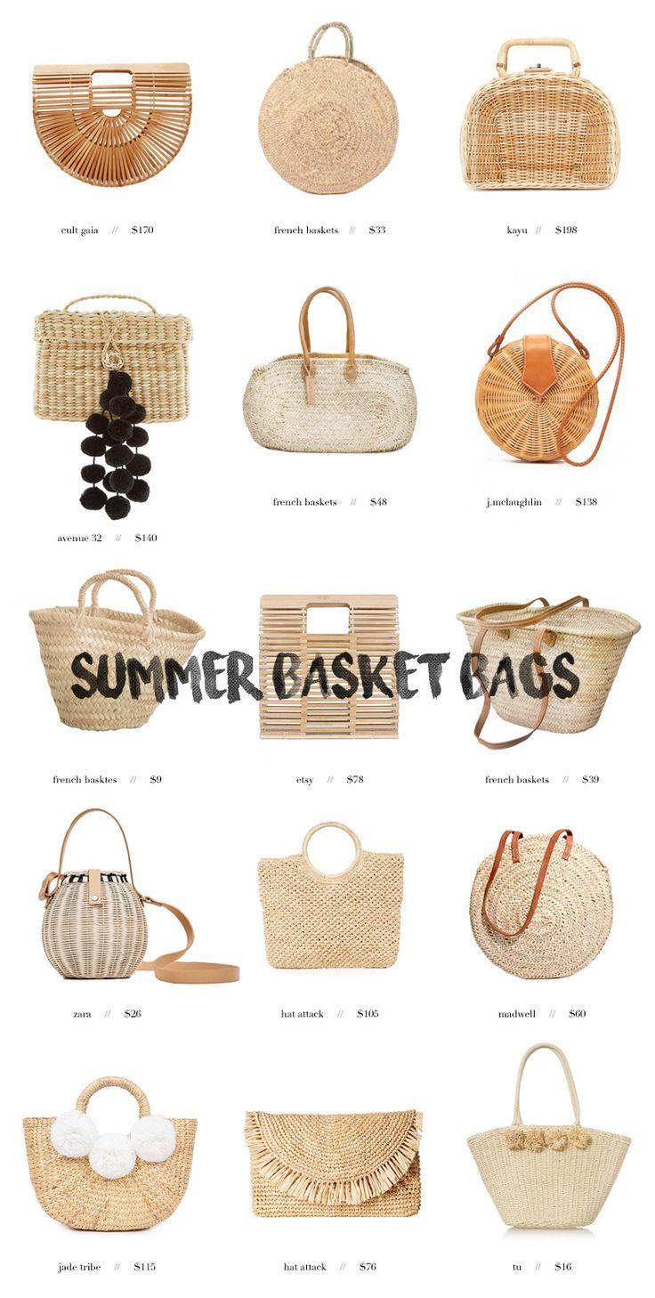 Die französischen Markttaschen, die perfekt für den Sommer sind – Hazel + Scout – Sanna