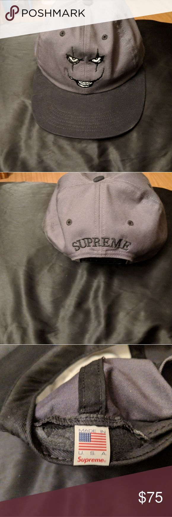 Supreme Creep 6 Pannel I have a Supreme Creep 6 Pannel for sale, only worn twice, will negotiate in proce! Supreme Accessories Hats