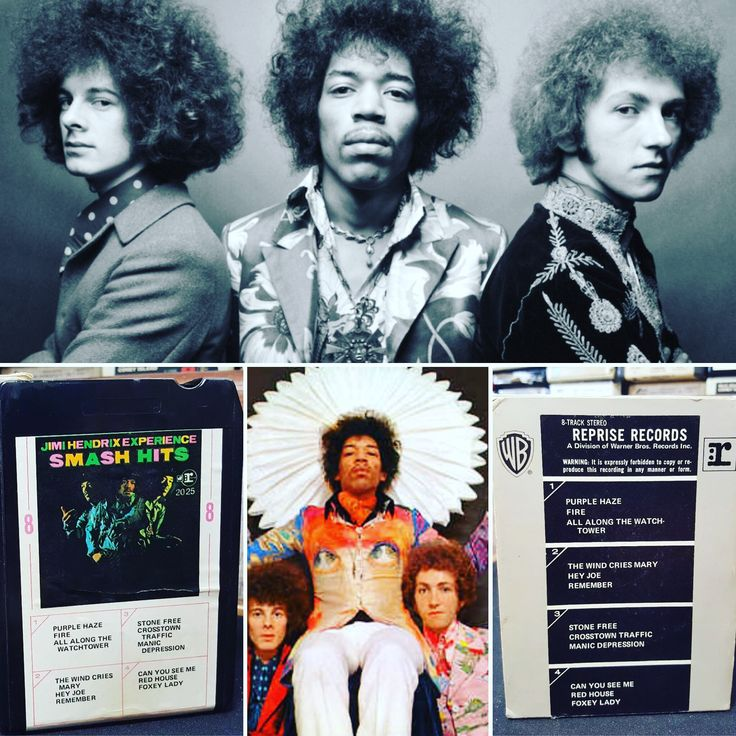 Today in 1966 Jimi Hendrix, Mitch Mitchell, and Noel Redding played together for the 1st time - The Jimi Hendrix Experience was born! Let's celebrate the Experience on 8-Track! #thejimihendrixexperience #jimihendrix #areyou8trackexperienced #8tracks #8trackparadise #buynowat8trackparadise