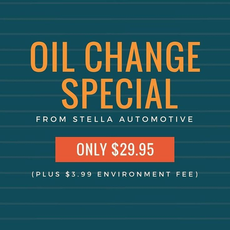OIL CHANGE SPECIAL! For a limited time enjoy an oil change for ONLY $29.95 ($3.99 environmental fee). Keep your car maintained with Stella Automotive. We also offer a wide range of other mechanical services. Visit us today at 1146 Westport Crescent Unit #8 in Mississauga or give us a call at(905)-266-1120ask for Sam!  #toronto #mississauga #brampton #cardetailing #mechanic #vaughan #tires #rims #sportscars #trucks #jdm #wheels #mississauga #turbo #speed #yyz #madwhipz #canada #cars #4x4…