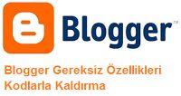 Blogger Kodlarla Düzenleme Yapma