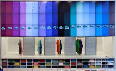 The alligator goes modern: Lacoste stores deploy digital signage