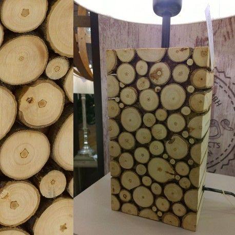 Βάση επιτραπέζιου φωτιστικού RIBADEO VINTAGE 1+1 ξύλινο H39