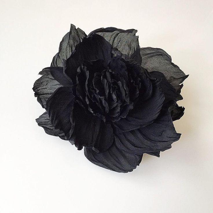 Пион #flowerme #flowermeaccessories #брошь