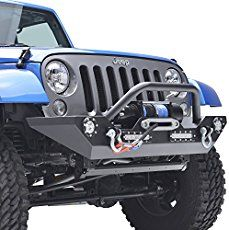 Jeep Wrangler JK Bumpers Browse our wide selection of Jeep Wrangler JK Bumpers to find the best prices for your Wrangler 2-Door or 4-Door. In this category you will find JK Wrangler bumpers for the 2007, 2008, 2009, 2010, 2011, 2012, 2013, 2014, 2015, 2016, and 2017 Jeep Wranglers. You can either select a product category or use our search box to find specific items in our store. Feel free to use our filtering options to sort by popularity, price or ratings within a category. The JK Jeep…
