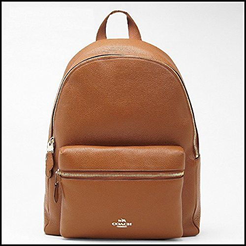 Coach Charlie Backpack in Pebble Leather, 38288