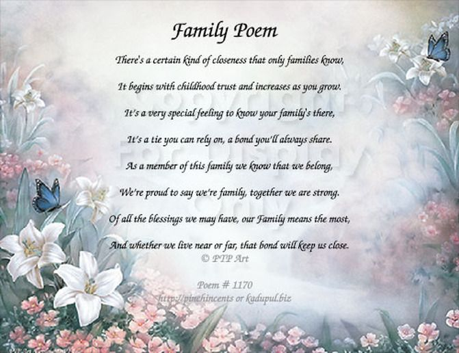 17 Best Ideas About Sayings About Family On Pinterest: 17 Best Images About Family Poems On Pinterest