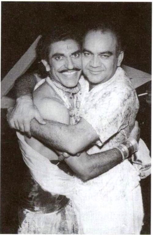Amrish Puri and Premnath