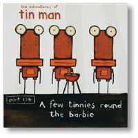 IMAGE VAULT - A Few Tinnies Round the Barbie by Tony Cribb - blocks