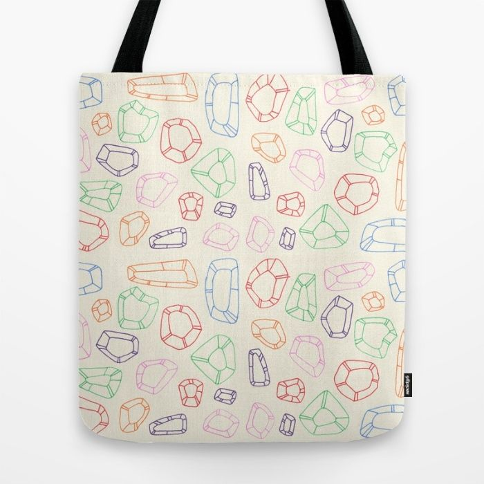 Buy Devon Johnson Illustration's semiprecious Tote Bag at Society6!