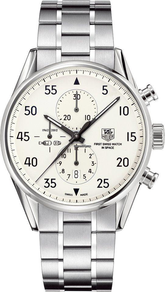 TAG Heuer Carrera Calibre 1887 Chronograph SpaceX Limited $5,855 #TagHeuer #watch #chronograph #watches