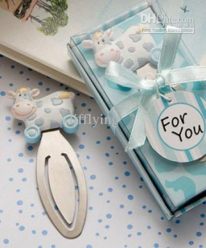 Blue Toy Cow Bookmark Favors Online with $0.67/Piece on Ljfflying's Store | DHgate.com
