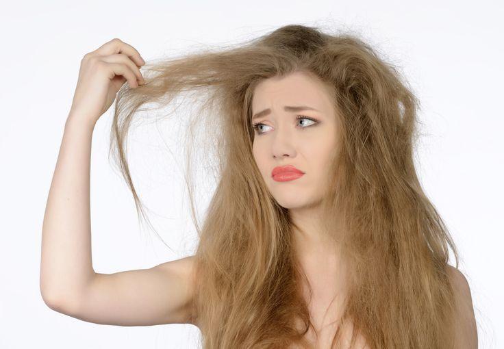 como eliminar o frizz do cabelo