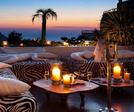 Top 5 sensational sunset spots on #Ibiza, photo: #Eden #Restaurant, San Miguel http://www.aluxurytravelblog.com/2013/05/25/top-5-sensational-sunset-spots-on-ibiza/